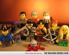 The Walking Dead Lego Figures
