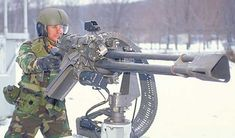 GAU-19 50 CAL  The GECAL 50, officially designated by the United States military as the GAU-19/A, is an electrically driven Gatling gun that fires the .50 BMG (12.7×99mm) cartridge. Due to its weight and size, it is not a field-portable weapons system, but it is often installed on helicopters, ground vehicles, and water vessels.