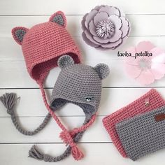 У дружбы нет границ 🐱🐭🐾  lavka_petelka  любовь_с_первой_петельки Crochet Girls, Newborn Crochet, Crochet For Kids, Diy Crochet, Crochet Baby, Love Crochet, Knitted Baby Clothes, Baby Hats Knitting, Knitting For Kids