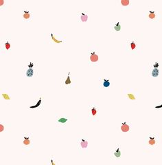 "Fruit pattern illustration by Emily Isabella ""Froot"""
