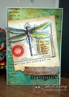 craftee guiri: Tim Holtz 12 tags of 2013 - June