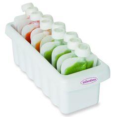 Fridge/Freezer sleeve for homemade baby food