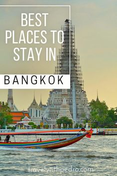 A guide with the best areas to stay in Bangkok and the best hotels in the city, with options for every budget and all travel styles. Find your best hotel in Sukhumvit, Riverside, Khao San Road, Silom, Siam and more.