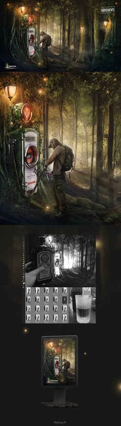 Jagermeister   Forest fuel   concept on Behance