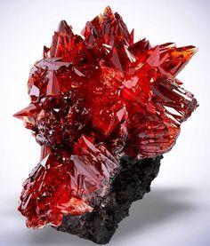 Incredible rare Rhodochrosite From N`Chwaning Mines, Kuruman, Kalahari manganese field, Northern Cape Province, South Africa