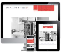 Interactive Website Design: Stephanie Ditullio #website #interactive #ipad #iphone #layout #identity #design #branding #typography #advertising #creative #TinyCouch