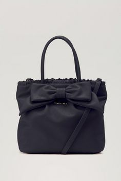 3ff7f2b9b169 Shopping Bag With Frontal Bow And Ruching (28 X 33 X 13cm)    A7A3CJ    TWIN-SET  Simona Barbieri    FW13