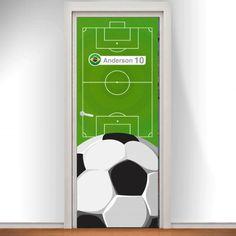 Adesivo Porta Futebol Brasil na Adesivos e Decoração