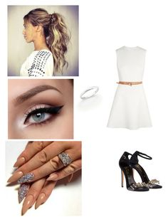 """Vacation"" by paukar ❤ liked on Polyvore featuring Victoria Beckham and De Beers"