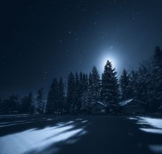 Ciel de Finlande de nuit par Joni Niemelä  2Tout2Rien