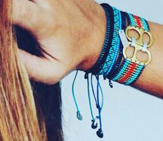 Beadwork, Friendship Bracelets, Macrame, Beads, Hair Styles, Jewelry, Fashion, Rings, Bracelet