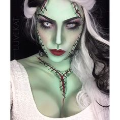 I'm into it. Lilly from Penny Dreadful inspires me to be the bride of frankenstien for Halloween.