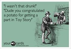 Chuck's Fun Page Today's e-card blast Funny Drunk Quotes, Drunk Humor, Beer Humor, Sarcastic Humor, Funny Memes, Alcohol Quotes, Alcohol Humor, Funny Alcohol, Alcohol Signs