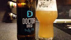Doctor Brew Molly IPA #craftbeer #Beer #realale #ale #beerporn #beerlove…