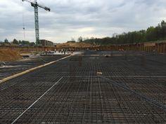 Budowa Parku Wodnego w Tychach - 28.04.2015 r.