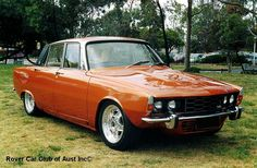 rover p6 with simmons wheels
