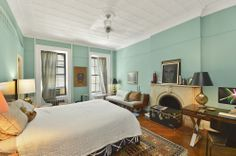 Painted walls. White trim.   582 Washington Avenue - Brooklyn - NY - 11238 - Home for Sale - NYTimes