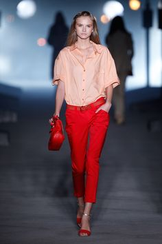 Red pants ideas