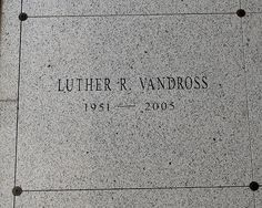 Luther Vandross= I prayed for him to make it- miss you Luther...