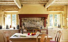 Castiglion del Bosco - Rosewood Castiglion - Villa Alba Kitchen - Tuscany - Italy