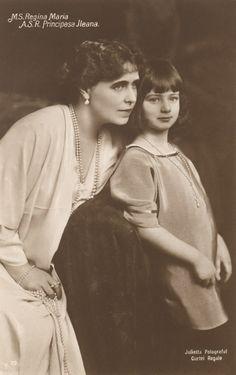 Princess Ileana of Romania Gallery / M.S. Regina Maria A.S.R. Principesa Ileana Postcard