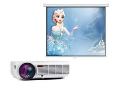Wifi Home Theater Projector 1080P Bluetooth 5500 Lumens LCD Video Movie Projector LED Full HD - Includes Projector Screen   Product Details: Image System:LCD Brightness:5500 Lumens Contrast:3001:1-4000:1 Native Read  more http://themarketplacespot.com/wifi-home-theater-projector-1080p-bluetooth-5500-lumens-lcd-video-movie-projector-led-full-hd-includes-projector-screen/