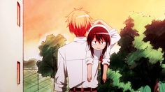 Ayuzawa Misaki & Takumi Usui - Kaichou wa Maid-sama! - Anime(gif)