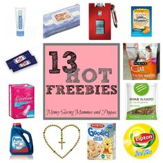 13 FREEBIES you can get by mail! GO GO GO!