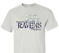 High School Impressions search FB-022-W; Ravens High School Football T-Shirts- Create your own design for t-shirts, hoodies, sweatshirts. Choose your Text, Ink and Garment Colors. Visit our other boards for other great designs!