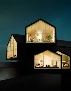 vitra house - I love big windows. Its the first thing I look for in a home.