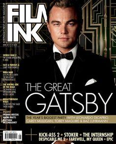 June Edition (on shelves 17th May 2013) - with #TheGreatGatsby on the cover! #BazLuhrman #LeonardoDiCaprio #CareyMulligan #TobeyMaguire #JoelEdgeton