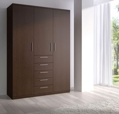 Bedroom, Classy Wooden Closet Wardrobe Ideas With Modern Design For Modern Bedroom: Cool And Modern Wardrobe Closet Ideas For Bedroom Design...