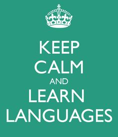 Learn basic conversational skills for at least two other languages