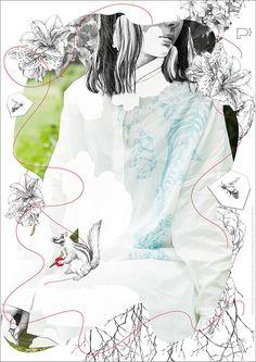 "Illustrator / Aki Miyajima /  » "" fiiju "" × "" paw "" コラボレーション作品 受注発表会"