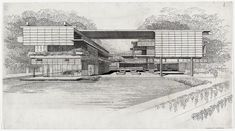Paul Rudolph, House with Shades