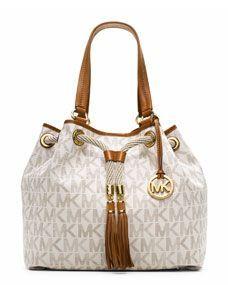 MICHAEL Michael Kors Jet Set Small Leather Across Body Bag RUB) ? liked on Polyvore featuring bags handbags shoulder bags khaki brown purse crossbody purse ...