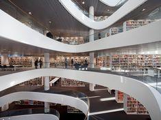 Nueva Biblioteca de la Universidad de Aberdeen Escocia, Reino Unido Diseño/Proyecto: Schmidt Hammer Lassen Architects