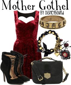 Disney Bound Mother Gothel outfit