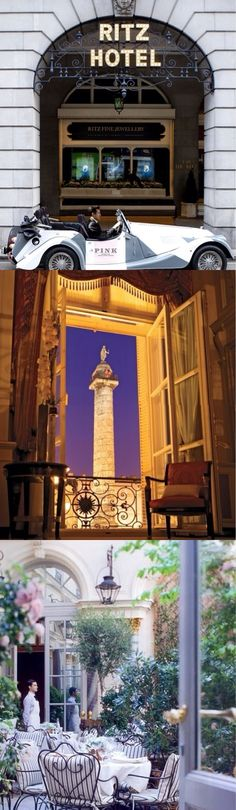The Ritz Hotel - Paris  The Perfect Place For Romance -ShazB