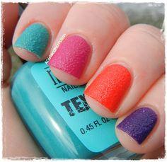 Textured polish
