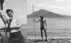 Allen Ginsberg en el Puerto de Nueva York (1947) y en Japón (1963) Allen Ginsberg, Beat Generation, E Book, Poet, Beats, Writer, Gay, 1950s, American