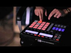 Mark Ronson doing sound design for a Coca Cola Olympics commercial with Native Instrument's Maschine.
