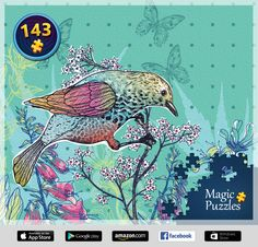 I've just solved this puzzle in the Magic Jigsaw Puzzles app for iPad. New Puzzle, Puzzle Board, Image Storage, App Store Google Play, Jigsaw Puzzles, Ipad, Magic, Artwork, Pictures