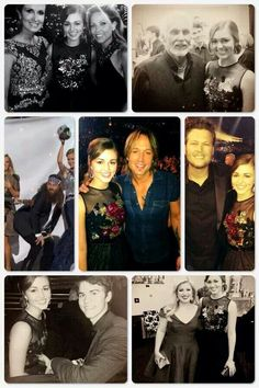 """""""What a night with some amazing people! --Sadie Robertson, who looked a bit starstruck next to the likes of Keith Urban, Sheryl Crow, Kelly Clarkson and Blake Shelton John Luke Robertson, Robertson Family, Sadie Robertson, Duck Dynasty Sadie, Duck Dynasty Cast, Miss Kays, Latest Celebrity Gossip, Duck Commander, Quack Quack"""