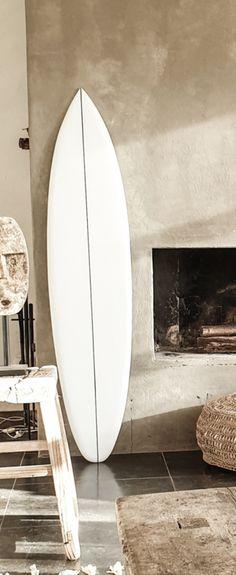 Surfboard white | BALI PRODUCTEN EIGEN IMPORT | www.landelijkenstoerrr.nl