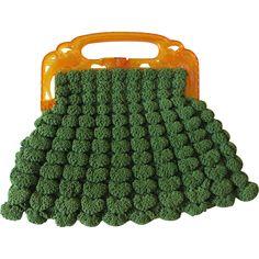Art Deco Purse Vintage 1920s Bird of Paradise Celluloid Green Crochet Handbag  $56 http://www.rubylane.com/item/676693-ACC203/Art-Deco-Purse-Vintage-1920s-Bird