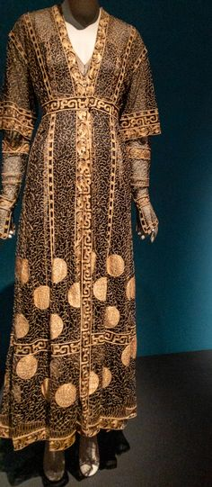 Sensory overload from my love of textiles and embellishments!!  @FITinNYC #ParisCapitalofFashion #MuseumatFIT #FashionExhibition #FashionExhibit #FashionHistory #DressHistory #BuyLess #AppreciateMore Fashion History, New Dress, Sensory Overload, Textiles, Nyc, Dresses With Sleeves, Paris, Exhibit, Long Sleeve