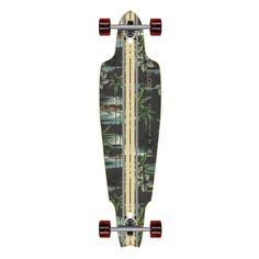 "Amazon.com : GLOBE Longboard Complete PROWLER VINTAGE BLACK/PAKALOLO Drop Through 10"" x 38"" : Sports & Outdoors"