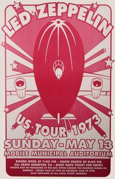 Led Zeppelin Concert Poster Rock posters l