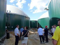 Richtfest UDI Biogasanlage Thierbach Juli 2015